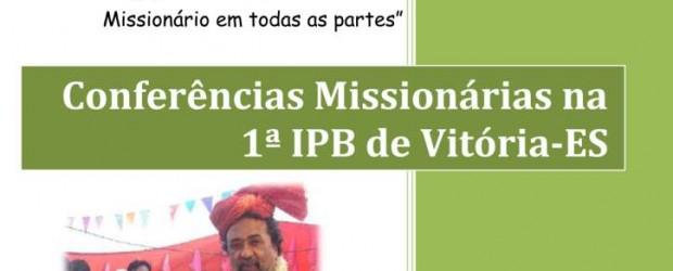 """Missionária: Wilma Soares Álvares TEMA: """"Engajando crianças no trabalho missionário em todas as partes"""" 13/8 das 13:30h às 18:00h 14/8 das 09:00h às 11:00h Missionário: Rev. Adolfo Tobias Santana TEMA: […]"""
