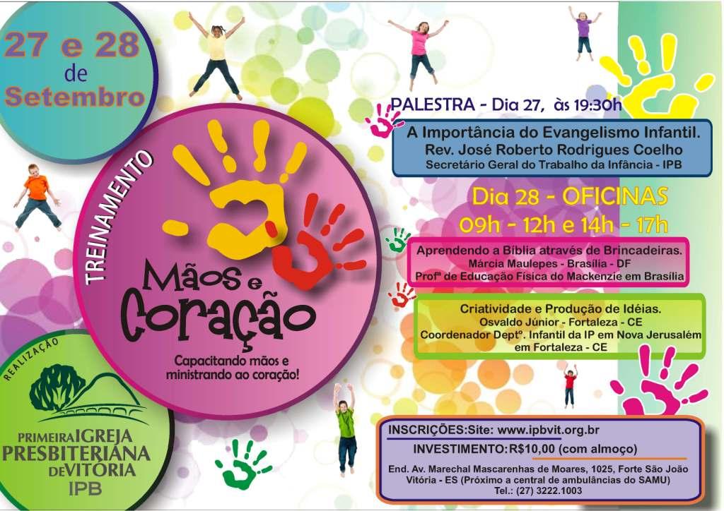 Cartaz 3º Congresso Mãos e Coração (Correto)