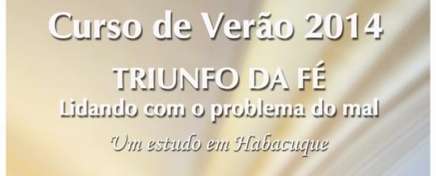 """Tema: Triunfo da fé – Lidando com o problema do mal """"Um estudo em Habacuque"""" Janeiro Dia 05 – Domingo – O PROFETA, SEU MUNDO E SEUS DILEMAS Preletor: Pb. […]"""