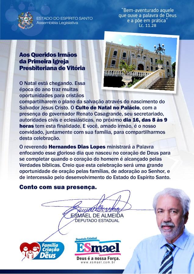 CARTA AOS IRMÃOS(1)