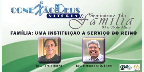 A Primeira Igreja Presbiteriana de Vitória realiza mais uma edição do evento Conexão com Deus e o Seminário da Família no próximo fim de semana. Com início na noite de […]