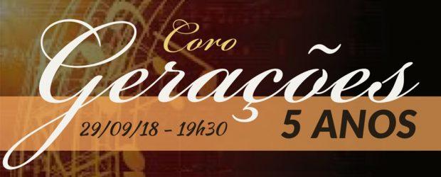 O Coro Gerações, formado por cerca de 50 membros da Primeira Igreja Presbiteriana de Vitória, comemora seus 5 anos de formação com um culto de gratidão a Deus no próximo […]